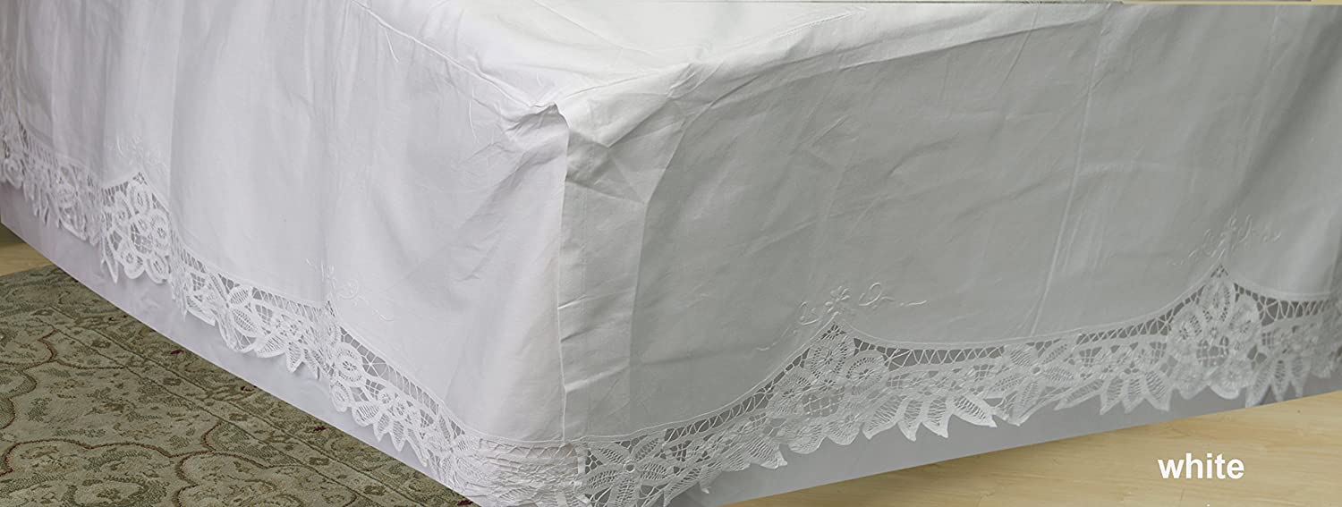 100 Linen Bed Skirts Dust Ruffles
