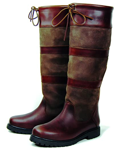 9a186710cc7a0 Orca Bay Orkney Leather Country Boot - Brown 4 UK/37 EU