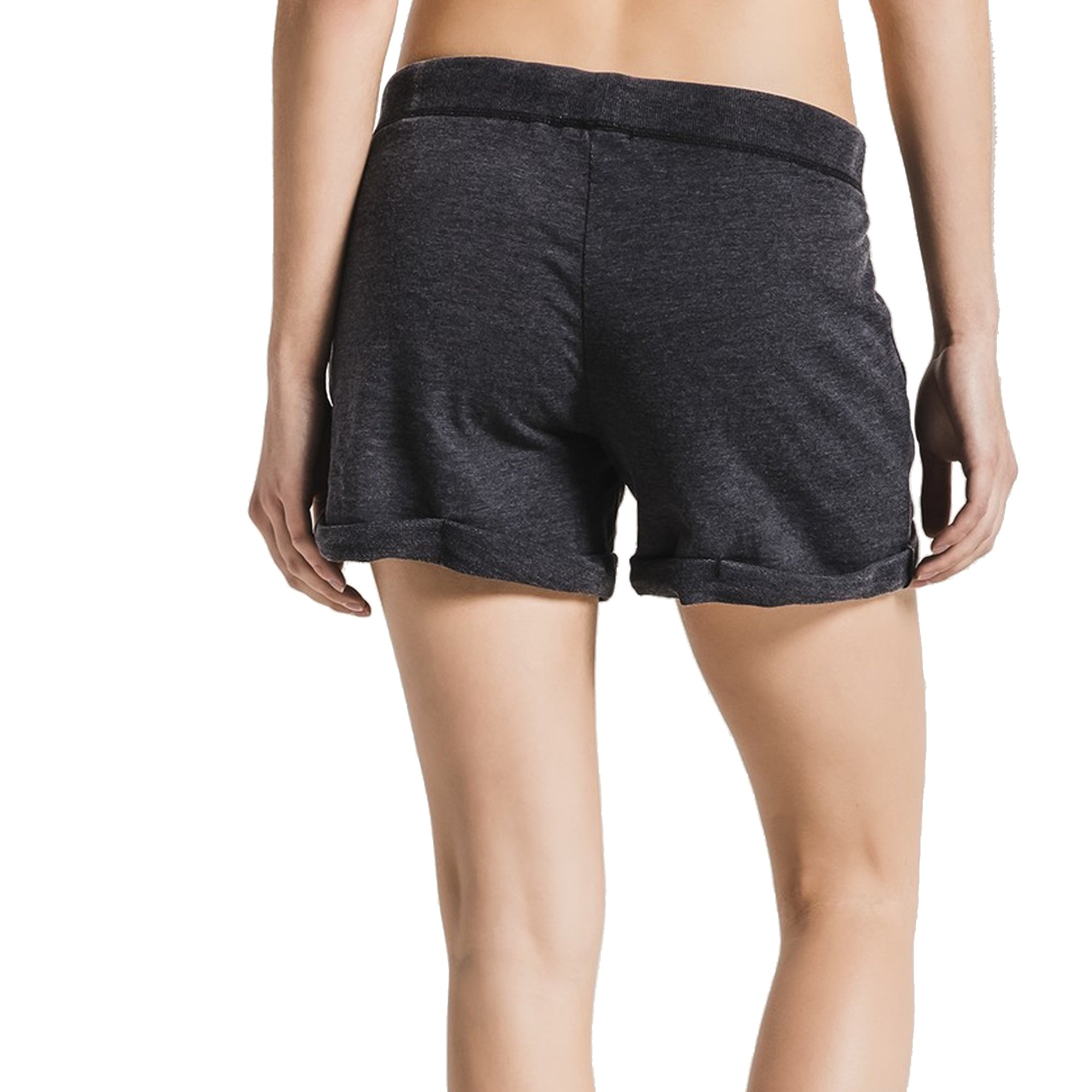 Z SUPPLY Women's The Boyfriend Short Burnout Fabric Relaxed Fit, Black, Small by Z SUPPLY (Image #1)