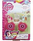 My Little Pony - Squishy Pops - 5 Mini Figurines à Ventouse - Modèle Aléatoire