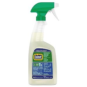 Comet 22569CT Disinfecting-Sanitizing Bathroom Cleaner, 32 oz. Trigger Bottle (Case of 8)