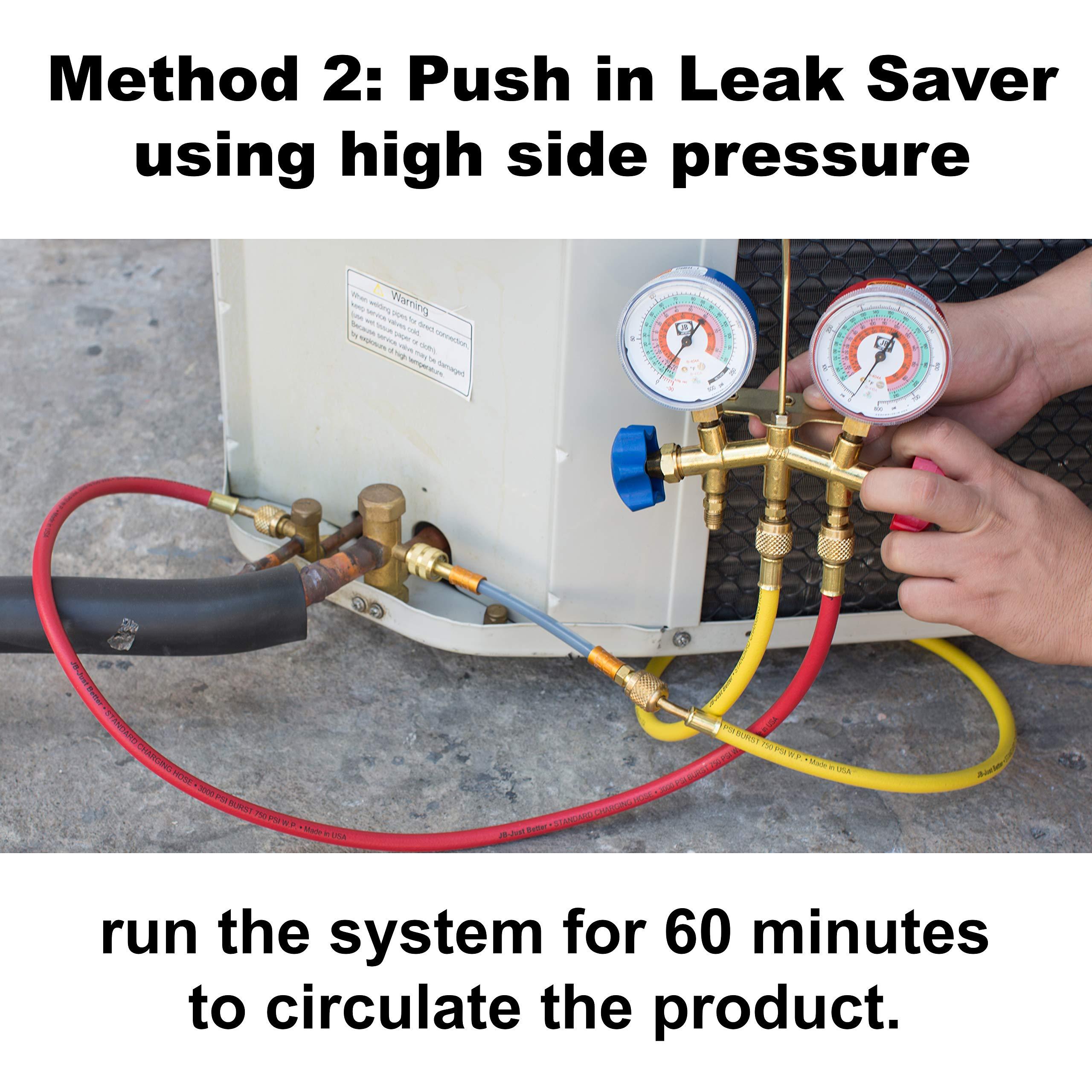 Leak Savers Direct Inject Refrigerant Leak Sealer with UV Dye (3 Pack) by Leak Savers (Image #5)