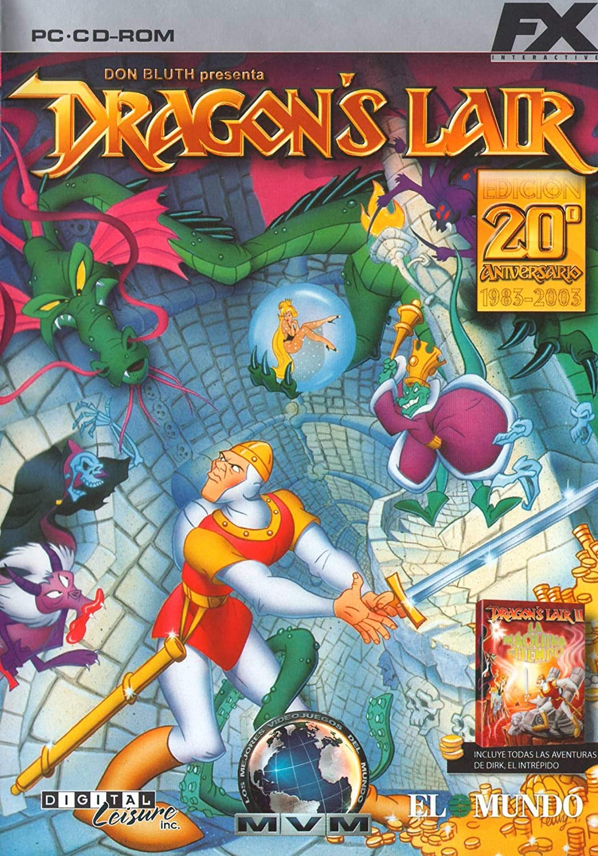 DRAGONS LAIR (PC-CD-RON 20 ANIVERSARIO 1983-2003): Amazon.es ...