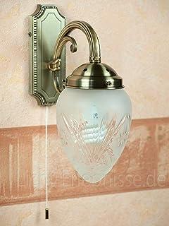 Klassische Wandleuchte Mit Echtglas 1 797 Wandlampe Jugendstil