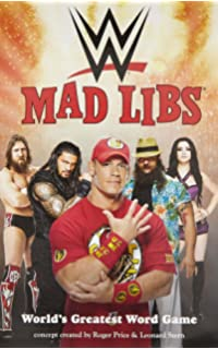 wwe mad libs - Wwe Coloring Book