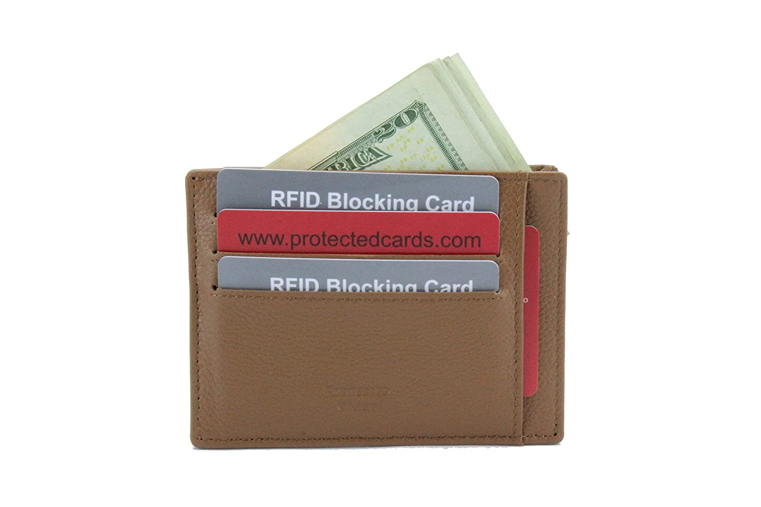 top-rated fashion real quality most desirable fashion V Wallet: Ultra Thin Minimalist RFID Blocking Genuine Pebble ...