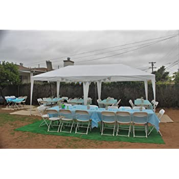 Quictent 10' x 20' Outdoor Gazebo Canopy Wedding Party Tent