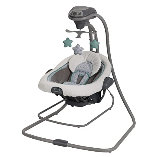 Amazon.com: Silla mecedora Graco Duet Connect LX Swing Plus ...