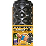 Extreme Massage Roller with Training Manual by GoFit