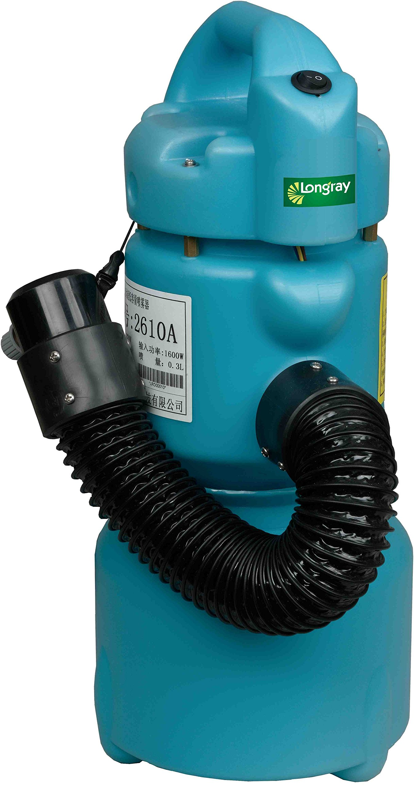 Longray Basic ULV Fogger with Adjustable Flow & Flex-Hose by Longray