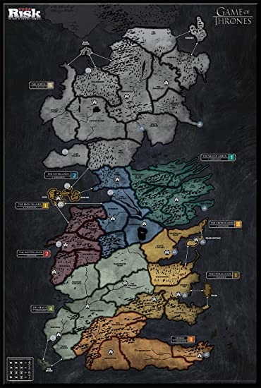 Amazon USAopoly Risk Game of Thrones Strategy Board Game