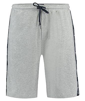 a969d40a9e Tommy Hilfiger Herren Pyjama Shorts grau (13) S: Amazon.de: Bekleidung