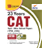 23 years CAT Topic-wise Solved Papers (1994-2016) with 6 Online Practice Sets 10th edition