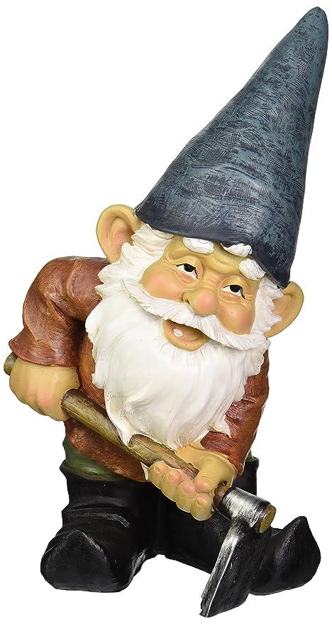 Exceptionnel Amazon.com : Design Toscano Garden Gnome Statue   Bulldoze The Dirty Hoe    Outdoor Garden Gnomes   Funny Lawn Gnome Statues : Outdoor Statues : Garden  U0026 ...
