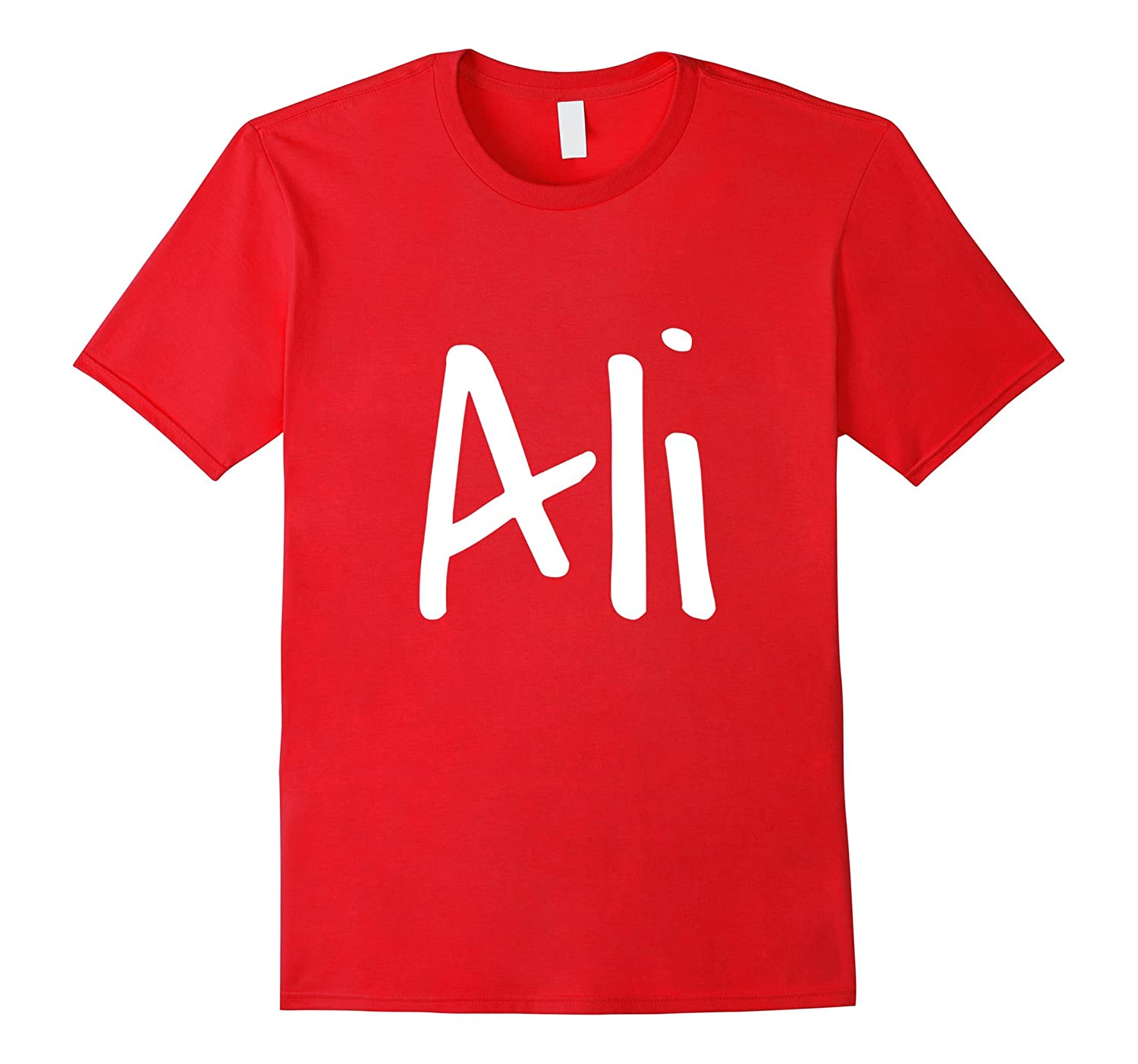 Ali - Your t-shirt with your name on it!-TH