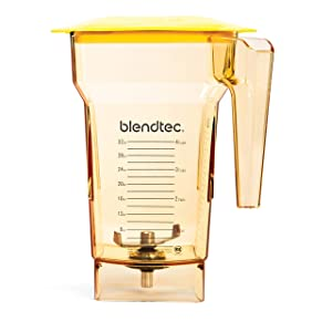 Blendtec 40-618-62 Fourside Blender Jar, 2 quart, Yellow
