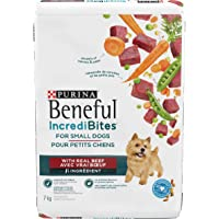 Beneful Incredulities Dry Dog Food for Small Dogs, Real Beef, 7 Kilograms