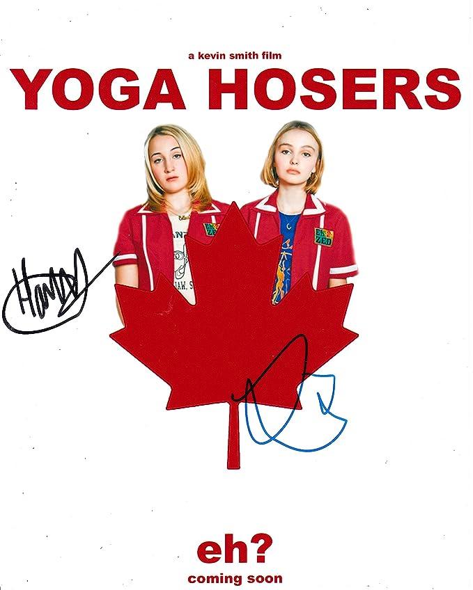Lily-Rose Melody Depp y Harley Quinn Smith firmado 10 x cm ...
