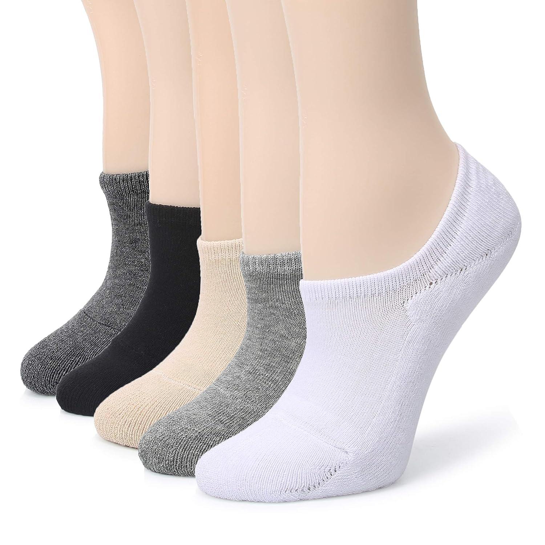 Amazon.com: Leotruny - Calcetines para mujer absorbentes del ...