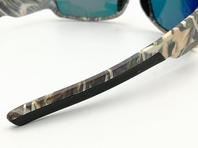 Gafas polarizadas tácticas para hombres deporte exterior camo marco marrón UV gafas de sol polarizadas Marcos para hombre clásicos Gafas frescas gafas de ...