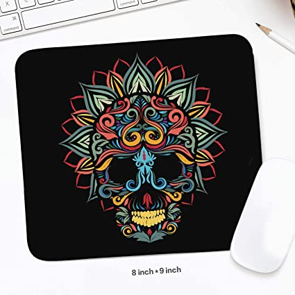 Amazoncom Skull And Lotus Flower Quality Selection Comfortable