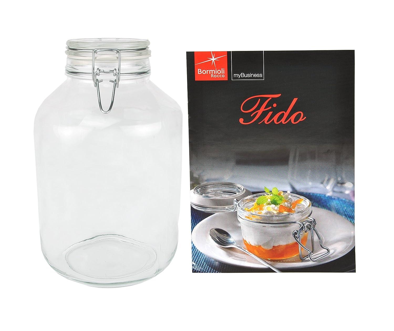 Tarros para conservas Original 1 incluye recetas Bormioli 0L botella