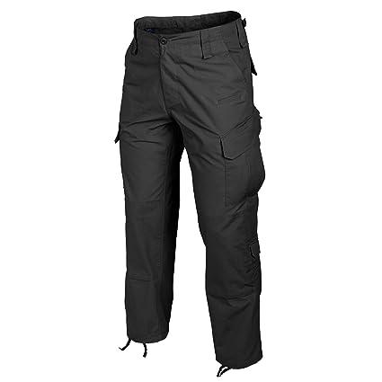 Helikon Tex Pantalones t/ácticos urbanos de polialgod/ón de ripstop color gris oscuro