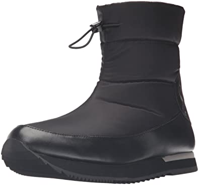 a3ef2cf2be12 LOVE Moschino Women s Ankle Snow Boot Black Boot 35 (US Women s 5) M ...