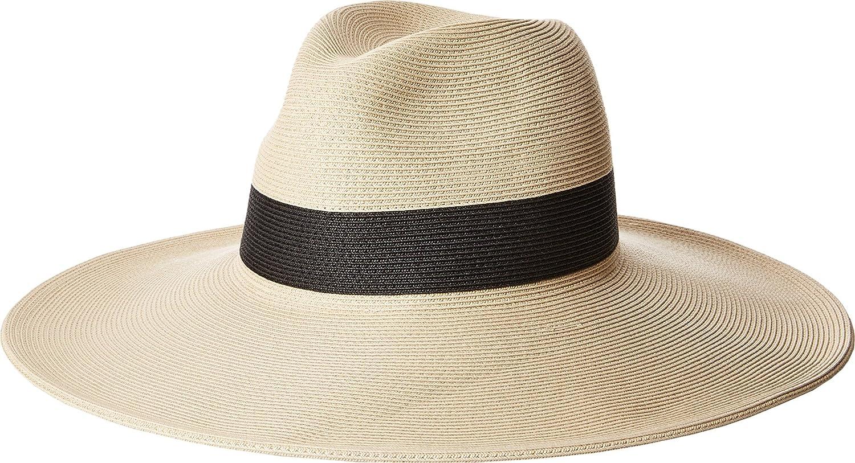 10a8ec2a2 Amazon.com: Hat Attack Women's Fine Braid Inset Continental Natural ...
