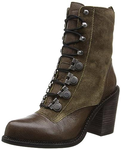 Amazon.com | Luxury Rebel Women's Mara Combat Boot | Ankle & Bootie