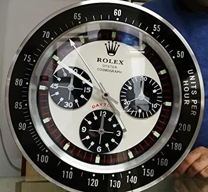 RELOJ DE PARED REPLICA DAYTONA ROLEX, REPUESTO ORIGINAL