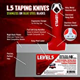 """12"""" Soft-Grip Stainless Steel Taping Knife - LEVEL5"""