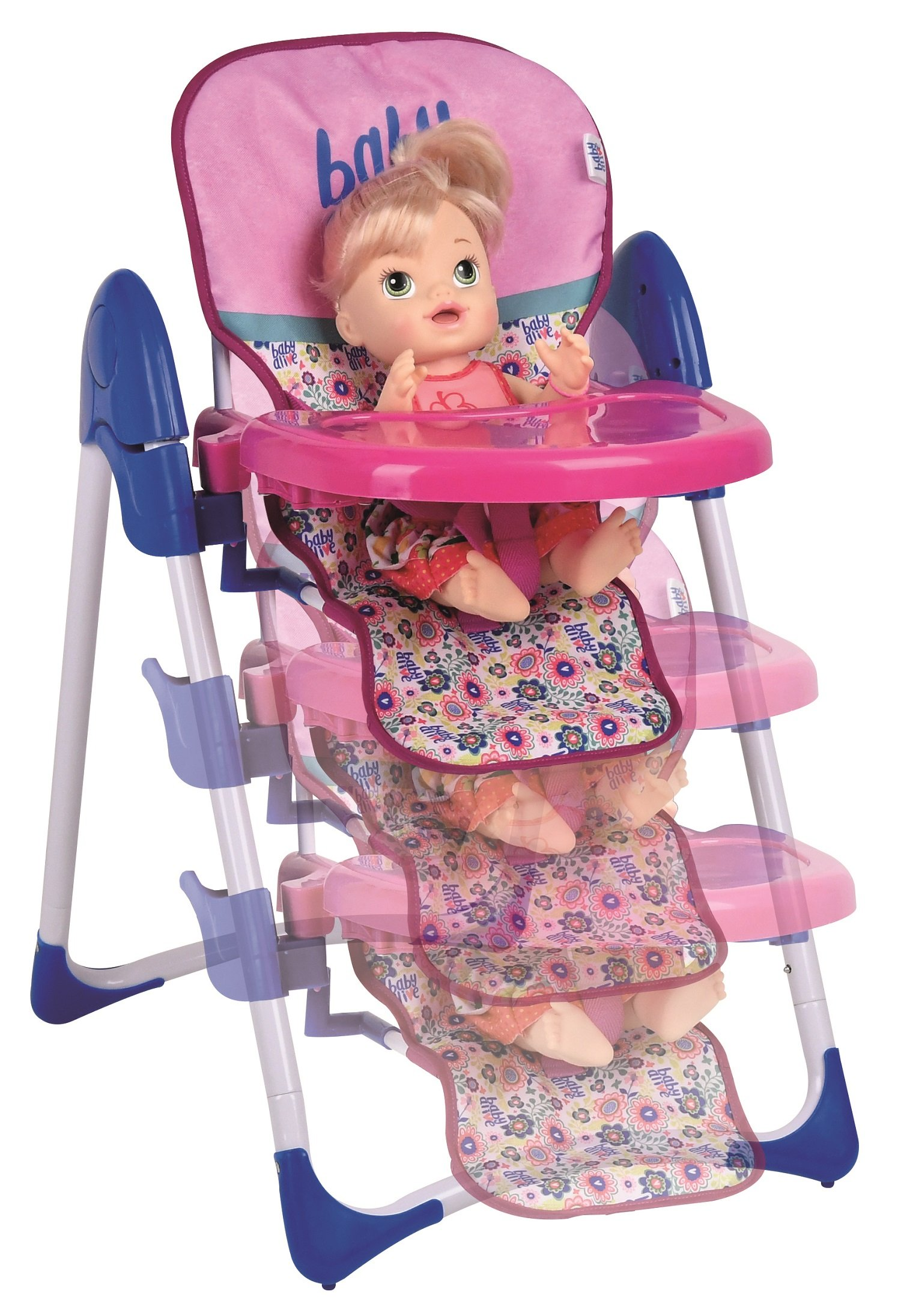 Baby Alive Doll Deluxe High Chair Toy 689997784133 Ebay