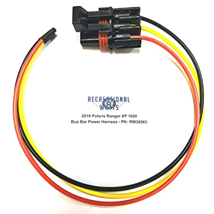 amazon com 2018 2019 polaris ranger xp 1000 rs1 general pulse system wiring harness 2018 2019 polaris ranger xp 1000 rs1 general pulse busbar electrical accessory harness