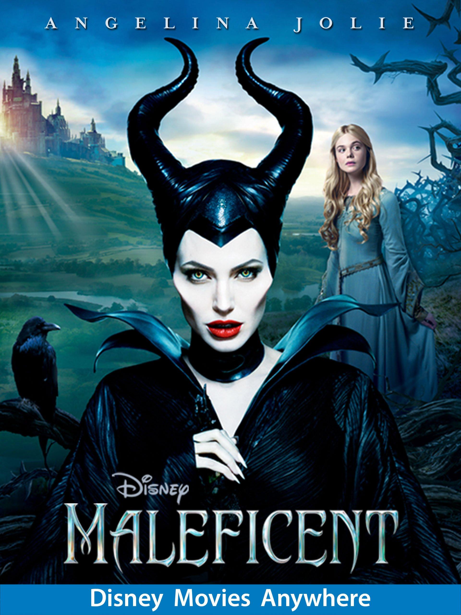 Amazon Com Maleficent Theatrical Angelina Jolie Sharlto