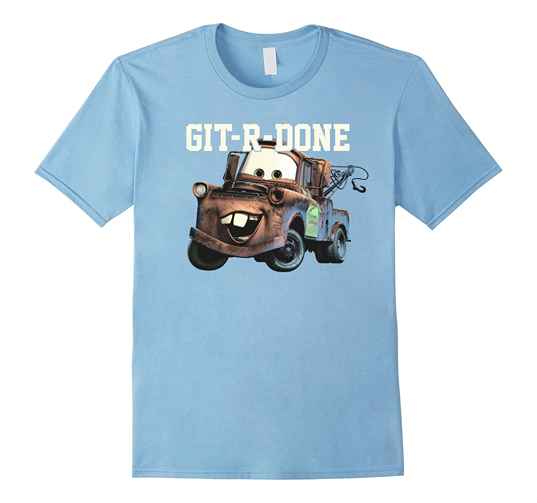 Disney Pixar Tow Mater GIT-R-DONE Graphic T-Shirt-PL