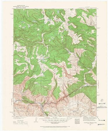 Amazon.com : YellowMaps Glenwood Springs CO topo map, 1 ... on