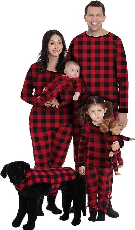Buffalo Plaid Matching Christmas Pajamas
