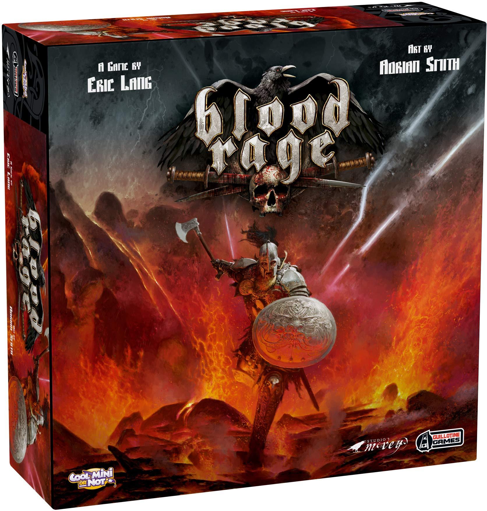CoolMiniOrNot BLR001CMON Blood Rage Board Game: Core Game Box - Multicolour