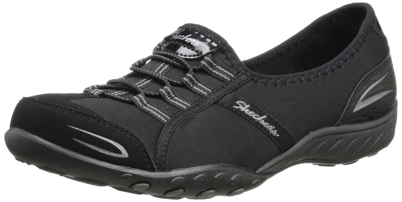 Skechers Damen Breathe-Easy Good Life Sneakers  355 EU Black/White