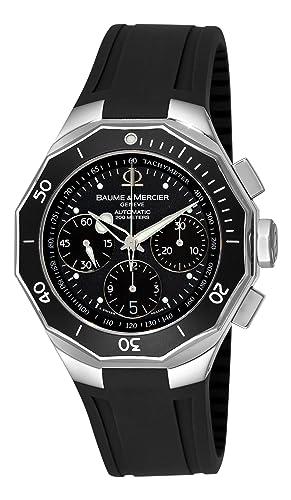 aaafe50fafa7 Baume   Mercier hombre 8723 Riviera Cronógrafo Fecha reloj  Baume ...