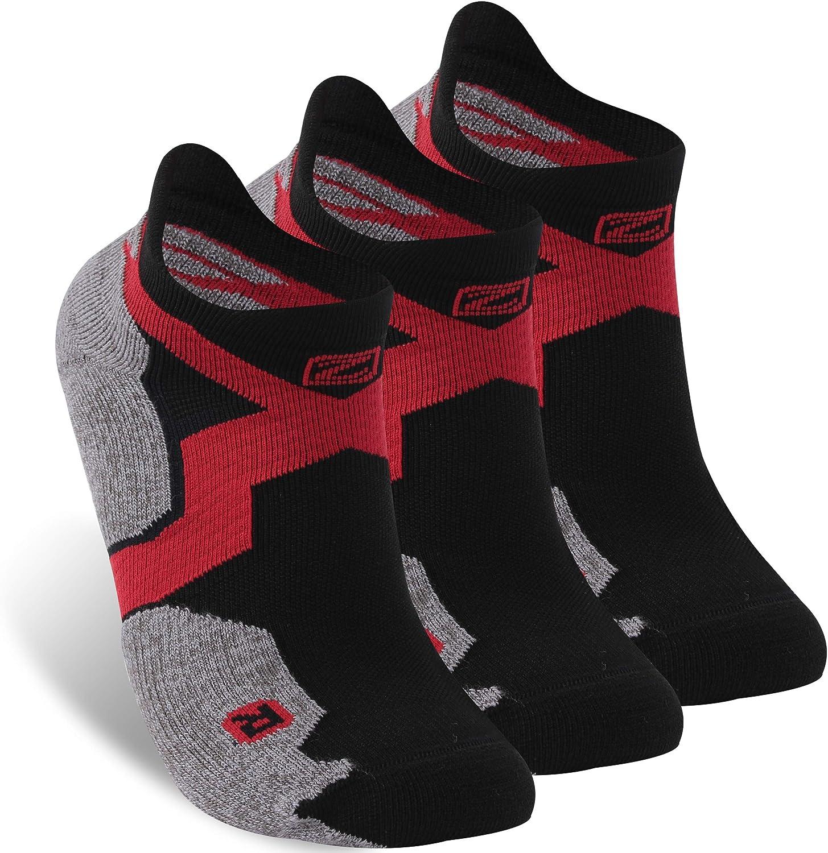 Merino Wool Socks, Zonent Tennis Socks Running Socks Ankle Socks No Show Socks