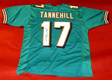 RYAN TANNEHILL AUTOGRAPHED MIAMI DOLPHINS JERSEY PSA DNA at ...