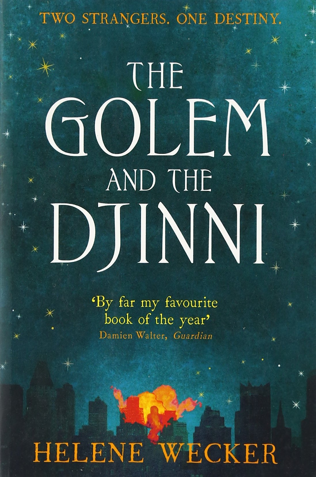 Image result for the golem and the djinni