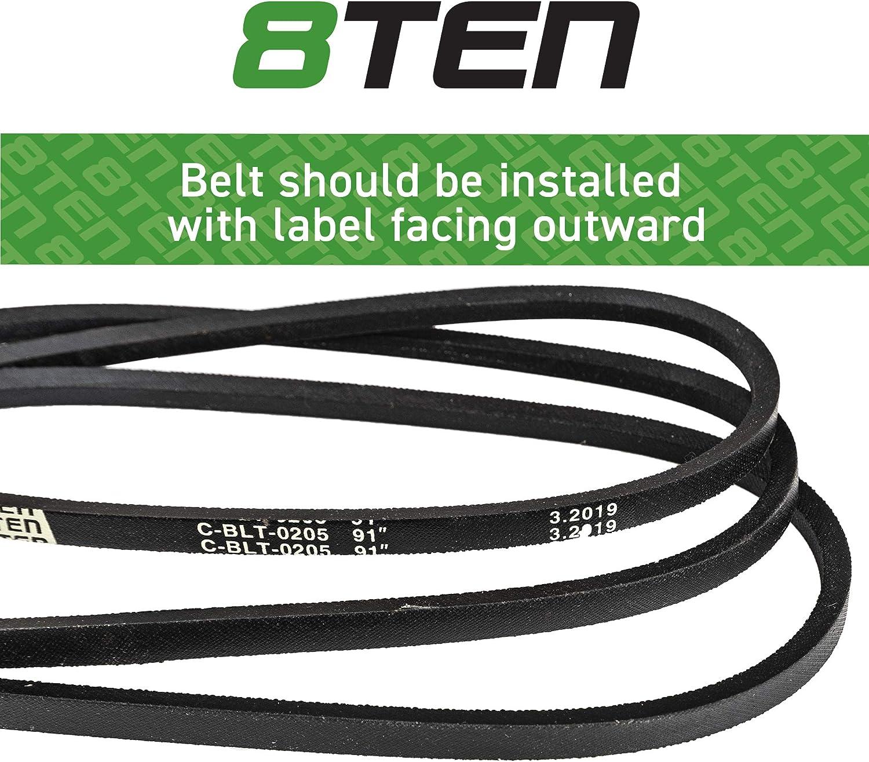 CUB CADET// MTD DRIVE BELT 754-05027A 954-05027A LAWNTRACTOR  XT1 XT2       91+