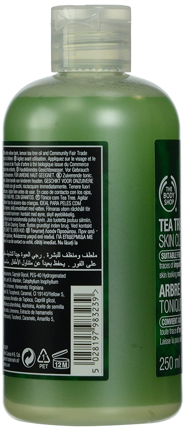 Amazon.com : The Body Shop Tea Tree Skin Clearing Toner, 8.4-Fluid Ounce : Beauty