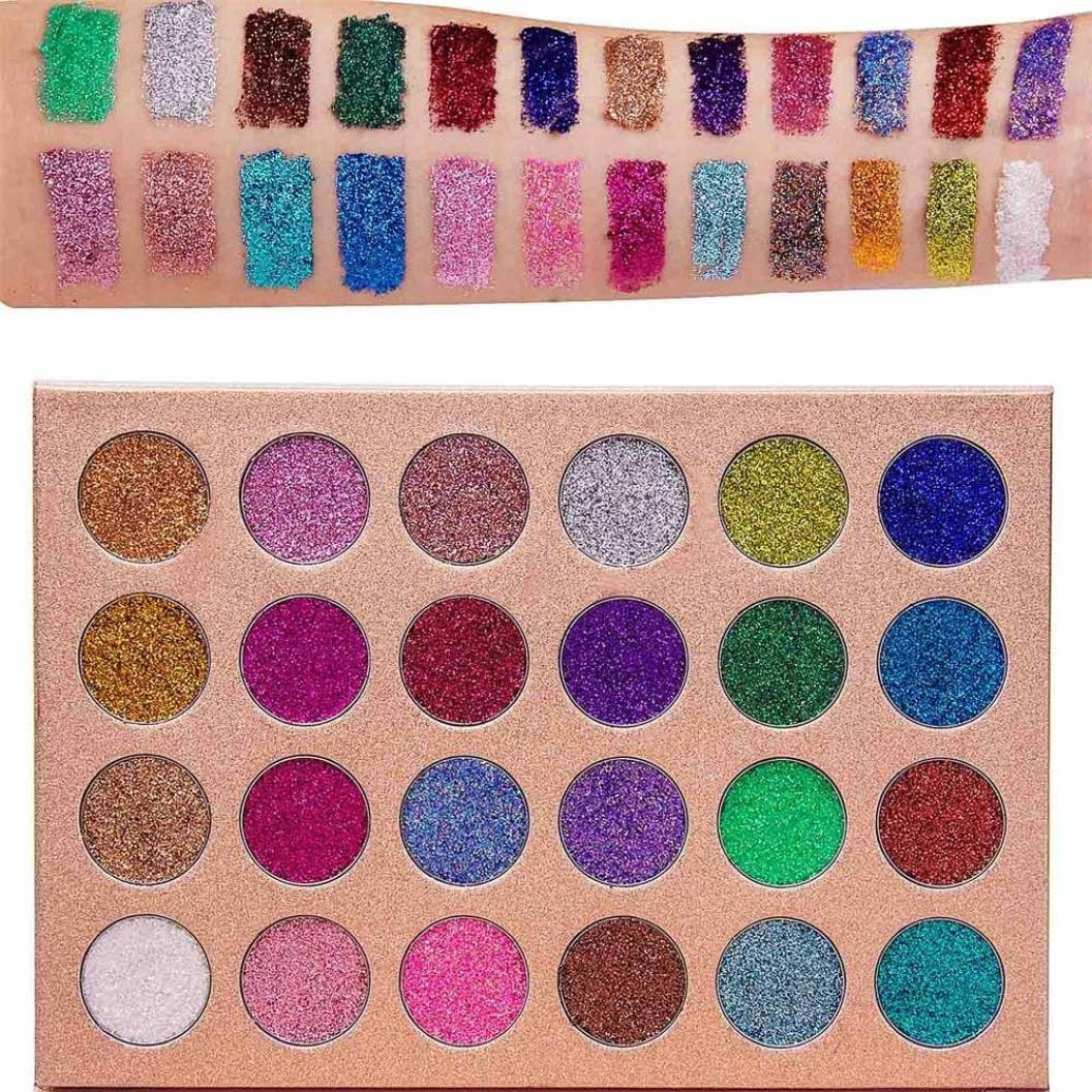 24 Colors Pro Eyeshadow Palette Big Promotion!ZYooh Fashion Shimmer Matte Eyeshadow Palette Makeup Powder