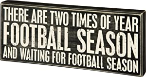 Primitives by Kathy Classic Box Sign, Football Season