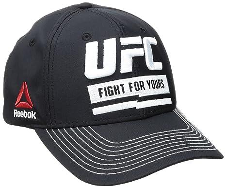 Reebok Unisex Lucha para el suyo Structured gorra ajustable 9c554a44664