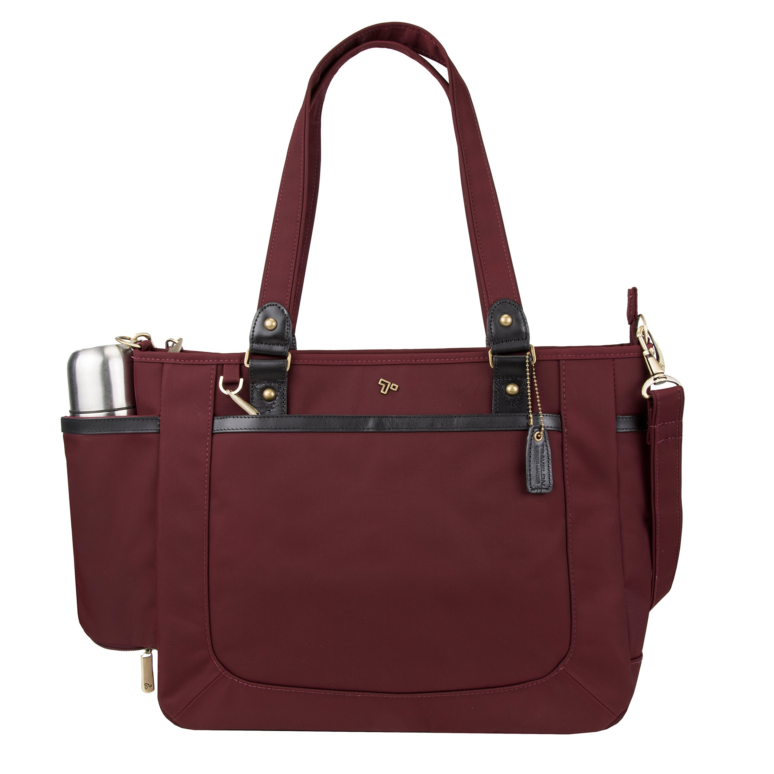 Travelon Anti-Theft Ltd Tote Bag, Wine